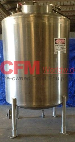 Tri Mix Tank : Gallon stainless steel mixing tank